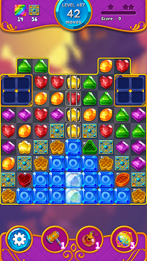 Jewel Witch - Best Funny Three Match Puzzle Game 1.8.2 screenshots 3