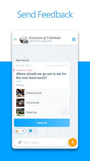 Microsoft Kaizala u2013 Chat, Call & Work 1.1.2816.5612 Screenshots 3