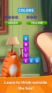 Kitty Scramble MOD APK: Word Stacks (Unlimited Money) 1