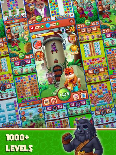 Cat Heroes - Color Match Puzzle Adventure Cat Game  screenshots 19