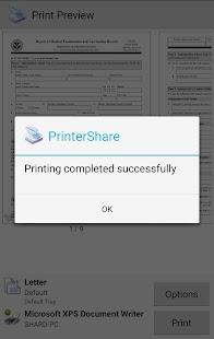PrinterShare Mobile Print Screenshot