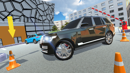 Télécharger Luxury SUV Car Parking APK MOD 2