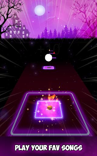 Neon Tiles Hop Color Ball : Forever Dancing Ball 1.5 screenshots 2