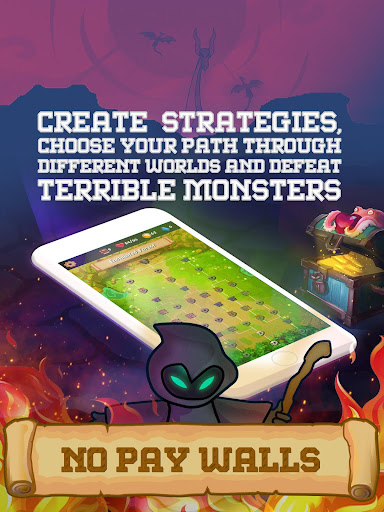 Rogue Adventure: Card Battles & Deck Building RPG modiapk screenshots 1