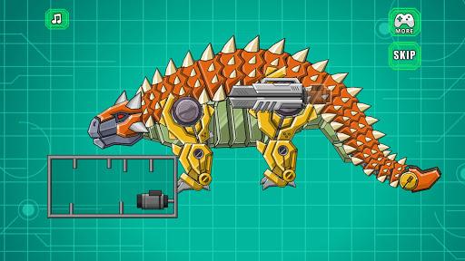 Robot Ankylosaurus Toy War screenshots 3