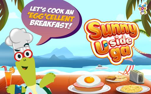 sunny side uga - kids' cooking game screenshot 1