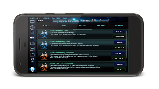 Hackers Online (MMO Simulator)  Screenshots 7