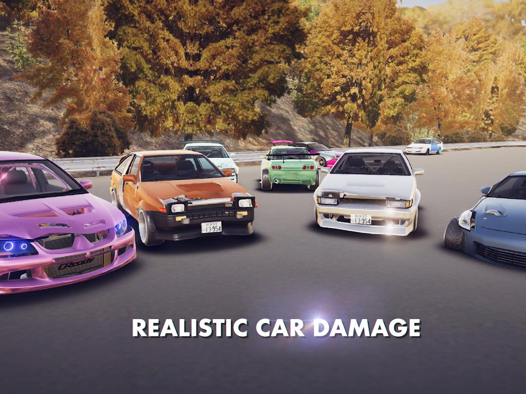Hashiriya Drifter Online Drift Racing Multiplayer MOD poster 13