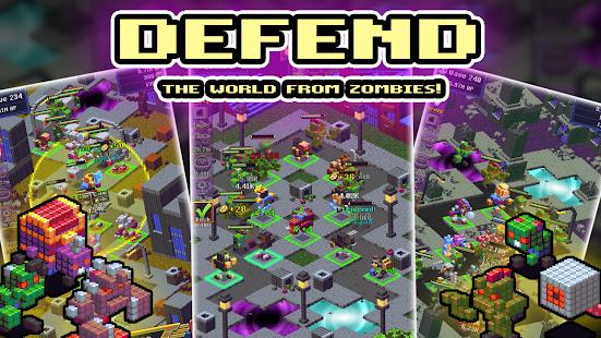 Idle TD: Heroes vs Zombies