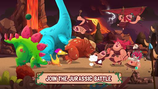 Dino Bash - Dinosaurs v Cavemen Tower Defense Wars 1.3.10 Screenshots 11