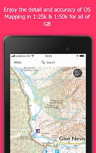 OS Maps: Explore hiking trails & walking routes 3.0.9.881 Screenshots 9