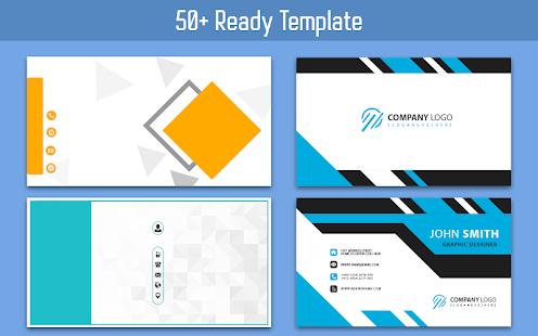 Business Card Maker u2013 Free Employee Card maker 30.0.1 Screenshots 4