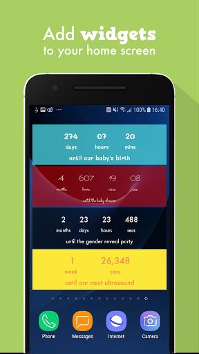 Baby Countdown Widget  Screenshots 4