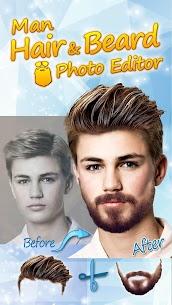 Men Hairstyles 2020 👨 Beard Style Camera 1.12 Mod APK Download 1