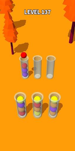 Color Sort 3D: Fun Sorting Puzzle - Ball Stack 0.3.3 screenshots 3