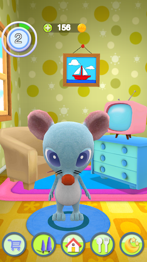 Talking Mouse apkpoly screenshots 5