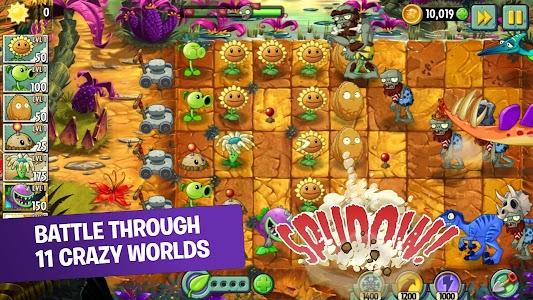Plants vs Zombies™ 2 Free 9.0.1 (MOD, Unlimited Coins/Gems/Suns)