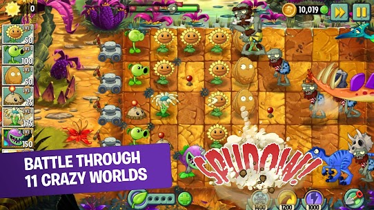 Download Plants vs. Zombies  Zombies and Plants 2 Android game mode data 1