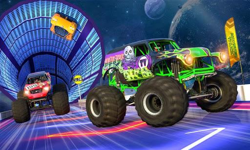 Monster Truck Mega Ramp Stunts Extreme Stunt Games screenshots 4