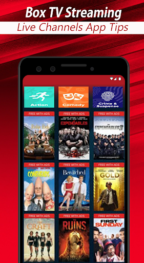 Foto do Free Box TV Streaming Live Channels App Tips