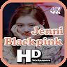 Jennie Blackpink 4K Wallpaper HD 💙 app apk icon