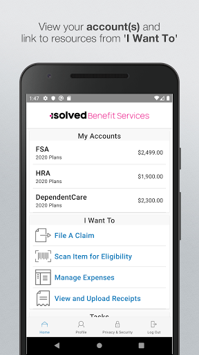 isolved Benefit Services iFlex screenshot for Android