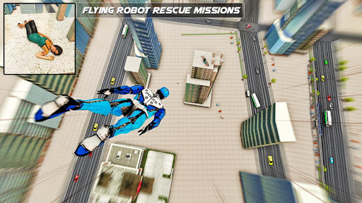 Police Robot Speed hero: Police Cop robot games 3D 5.2 Screenshots 7