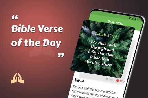 King James Bible (KJV) - Free Bible Verses + Audio android2mod screenshots 17