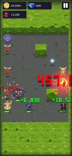 Dunidle: 8-Bit AFK Idle RPG Dungeon Crawler Games apktram screenshots 7