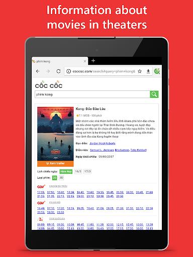 Cu1ed1c Cu1ed1c Browser - Browse web fast & secured 89.0.244 Screenshots 16