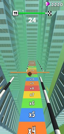 Rail Run: Sliding Run on Roof Rails - fun rush 1.0.25 screenshots 2