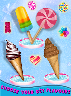 Frosty Ice Cream Maker: Crazy Chef Cooking Game Screenshot