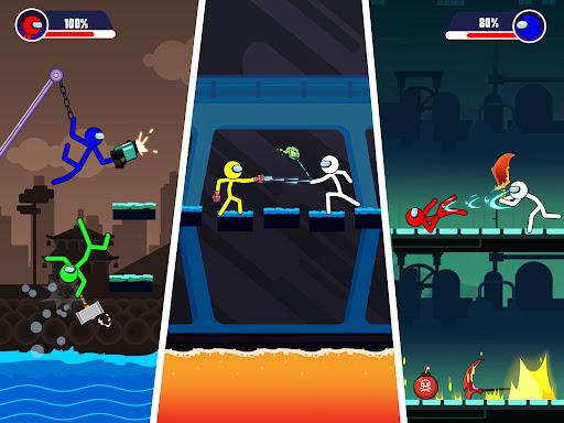 Stick Fights: Stickman Battle 1.0 screenshots 11