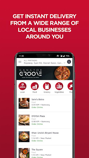 Mitho Sikkim | Order Delicious Food In Gangtok 1.0.2 Screenshots 1
