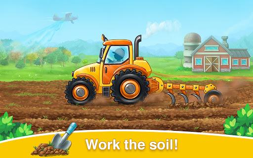 Farm land and Harvest - farming kids games 1.0.11 screenshots 2