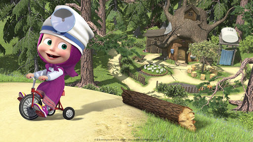 Masha and the Bear: Free Dentist Games for Kids android2mod screenshots 3