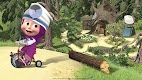 screenshot of Masha and the Bear: Free Dentist Games for Kids