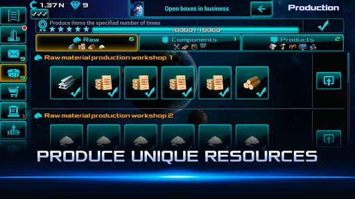 Idle Space Business Tycoon Apkfinish screenshots 10