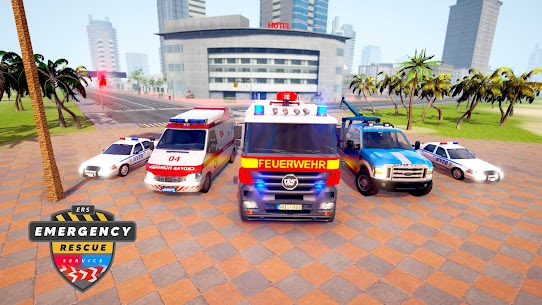 Emergency Rescue Service- Police, Firefighter, Ems 1