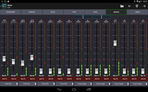 Mixing Station XM32 android2mod screenshots 18