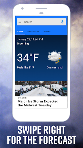 Daily Weather Home - Weather Widget and Launcher android2mod screenshots 1