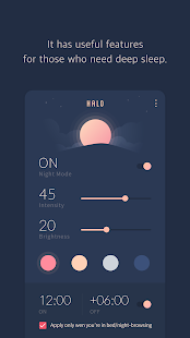 HALO - Bluelight Filter, Night Mode, Anti-Glare