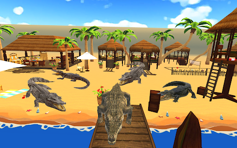 Crocodile Hunter 3d : Hungry Crocodile Attack Game Online Hack Android & iOS 5