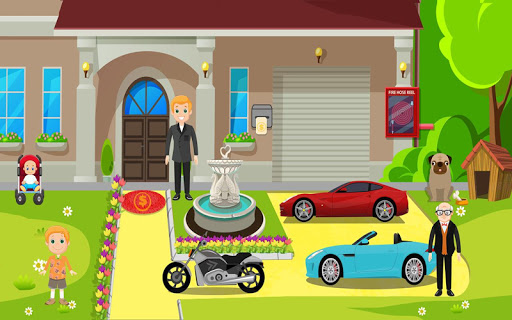 Pretend Play My Millionaire Family Villa Fun Game 1.0.3 screenshots 8