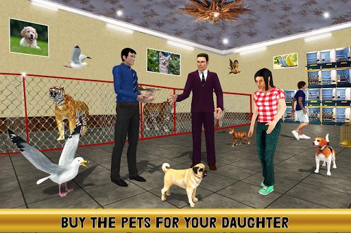 Virtual Billionaire Dad Simulator: Luxury Family android2mod screenshots 5