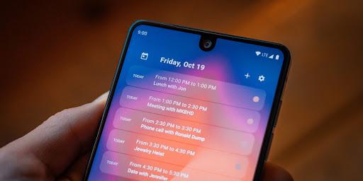 Calendar Widget by Home Agenda 🗓 screen 0