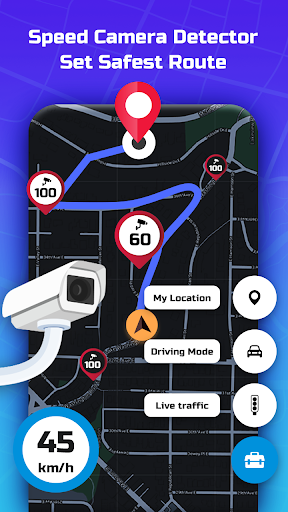 Speed Camera Radar - Police Detector & Speed Alert apktram screenshots 6