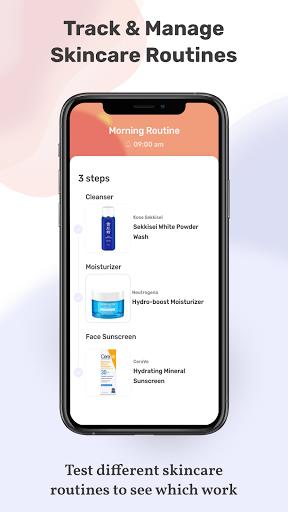 TroveSkin 2.0 Skincare Tracker  screenshots 1