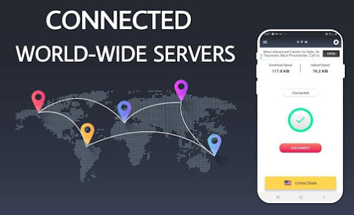 Paid VPN Pro for Android - Premium Proxy VPN App 4.1.0 APK + Мод (Unlimited money) за Android