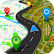 GPSナビゲーショングローブマップ3d